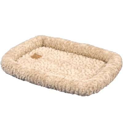 SnooZZy Cozy Crate Donut Dog Bed Size: Extra Small (18 L x 14 W), Color: Natural