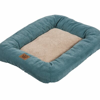 Snoozzy Mod Chic Low Bumper Mat Size: Small (25 L x 20 W), Color: Teal