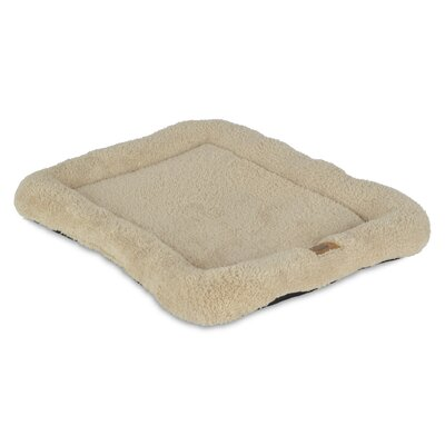 Snoozzy Low Bumper Crate Dog Mat Size: 17 W x 23 D x 2 H