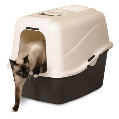 Jumbo Cat Hood Litter Pan