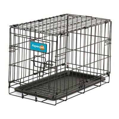 Home Training Pet Crate Size: 11.7 H x 13.6 W x 19.6 L