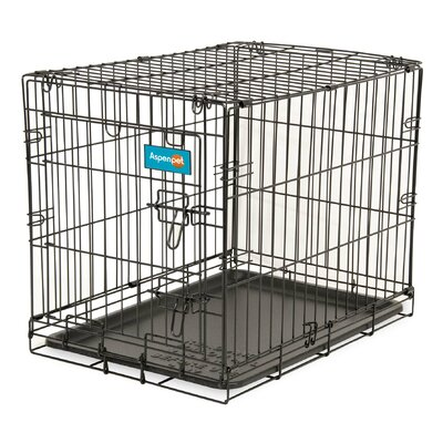 Home Training Pet Crate Size: 17 H x 19.4 W x 24.6 L