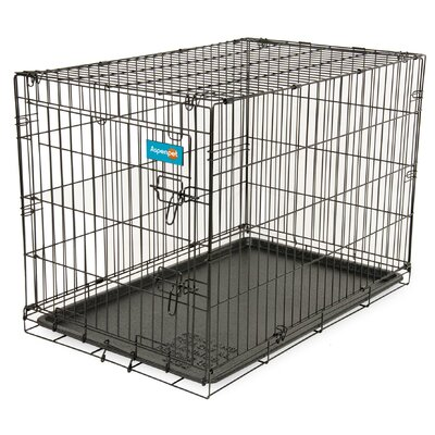 Home Training Pet Crate Size: 22.6 H x 25.4 W x 34.6 L