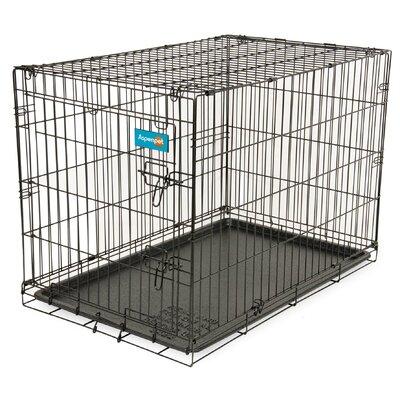 Home Training Pet Crate Size: 25.5 H x 27.6 W x 38.1 L