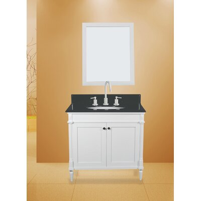 Barcelona 30 Single Bathroom Vanity with Mirror