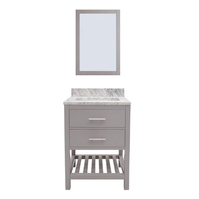 Rizer 24 Single Bathroom Vanity with Mirror