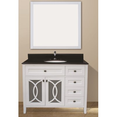 Margaret Garden 42 Single Bathroom Vanity Set