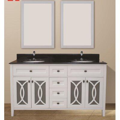 Margaret Garden 60 Double Bathroom Vanity Set