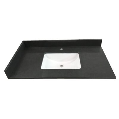 Cloudy Wave 37 Single Bathroom Vanity Top