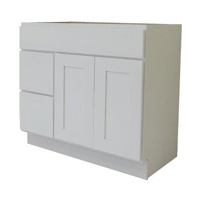 Shaker Cabinet 36 Single Bathroom Vanity Base