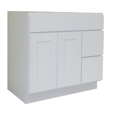 Shaker Cabinet 42 Single Bathroom Vanity Base