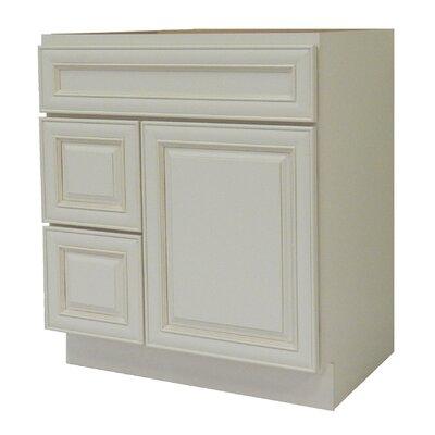 Cabinet 30 Single Bathroom Vanity Base