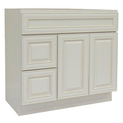 Cabinet 42 Single Bathroom Vanity Base