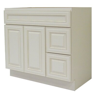 Cabinet 42 Single Bathroom Vanity Base