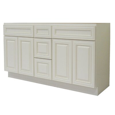 Cabinet 60 Double Bathroom Vanity Base