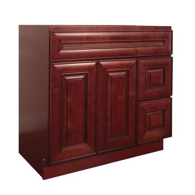 Maple 42 Single Bathroom Vanity Base