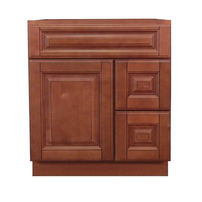 Door Right 30 Single Bathroom Vanity Base