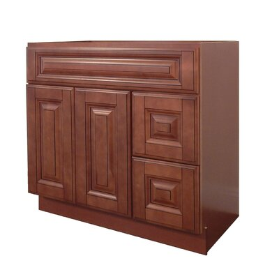 Drawers Right 42 Single Bathroom Vanity Base