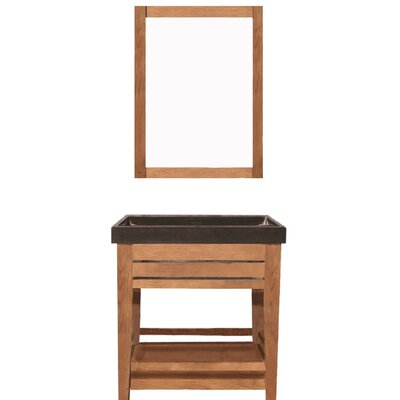 Madalyn 31 Single Bathroom Vanity with Mirror