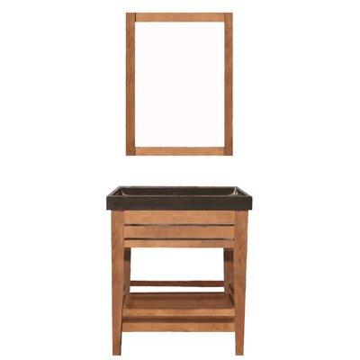 Madalyn 24 Single Bathroom Vanity with Mirror