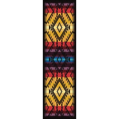 Johnny D Rainmaker Bright Area Rug Rug Size: Runner 2 x 8