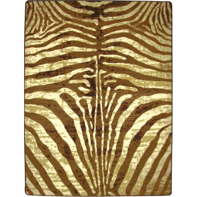 Specialty Senegal Caramel Area Rug Rug Size: Rectangle 8 x 11