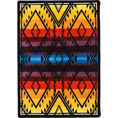 Johnny D Rainmaker Bright Area Rug Rug Size: 4 x 5