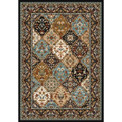 Specialty Badillo Brown Area Rug Rug Size: Rectangle 4 x 5