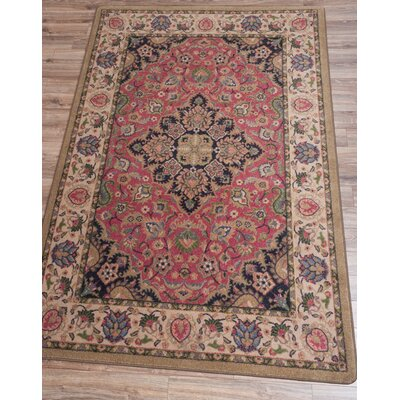 Robert Caine Montreal Rosette Area Rug Rug Size: Rectangle 4 x 5
