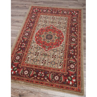 Robert Caine Bristol Blaze Area Rug Rug Size: Rectangle 5 x 8