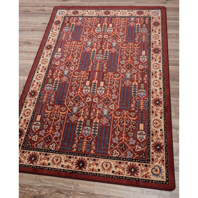 Robert Caine Passage Panache Area Rug Rug Size: Rectangle 4 x 5