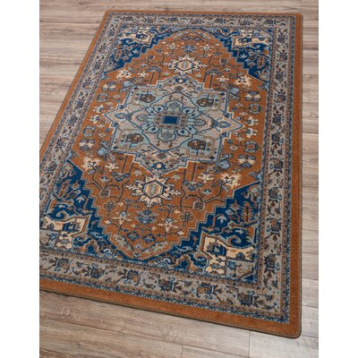 Robert Caine Persia Caramel Area Rug Rug Size: Rectangle 5 x 8