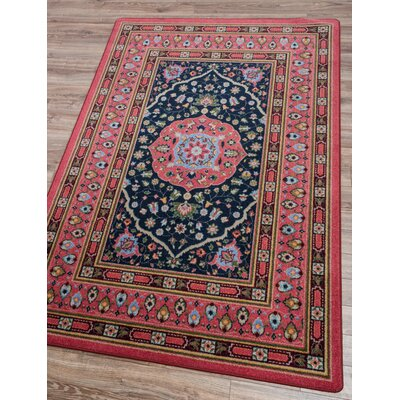 Robert Caine Zanza Cardinal Area Rug Rug Size: Rectangle 5 x 8