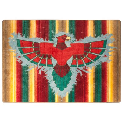 Motorhead Thunderbird Stripe Area Rug