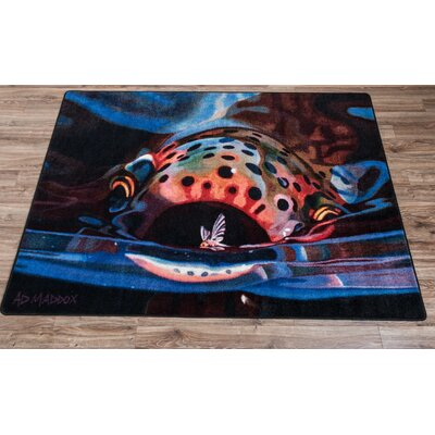 Lester Snack Area Rug Rug Size: Rectangle 4 x 5