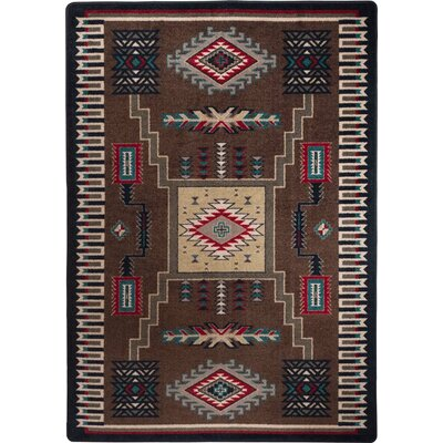 Busselton Brown Area Rug Rug Size: 3 x 4