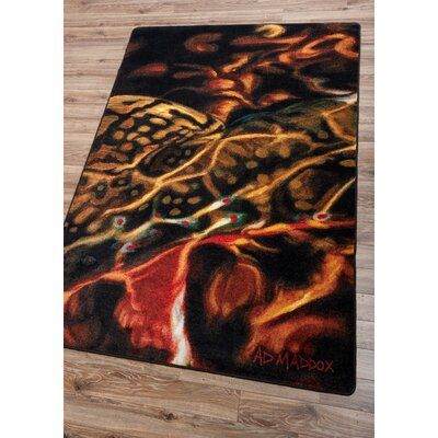 Matewan Guise of a Brook Area Rug Rug Size: 8 x 11