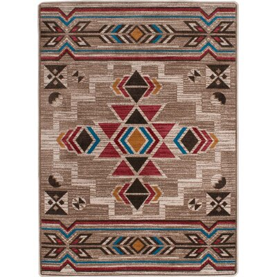 Bushgrove Natural Area Rug Rug Size: Rectangle 5 x 8