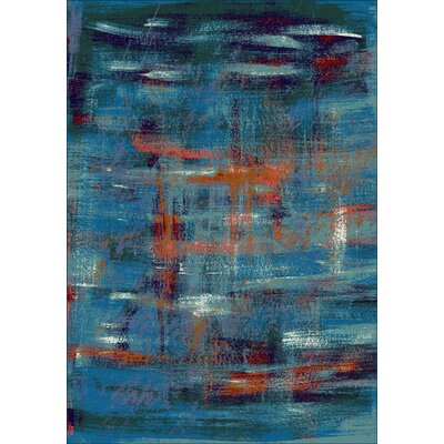 Fuqua Blue Area Rug