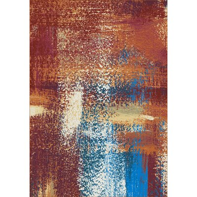 Howle Red Area Rug
