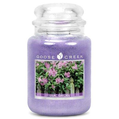 Essential Series Lilac Garden Scent Jar Candle ES26299