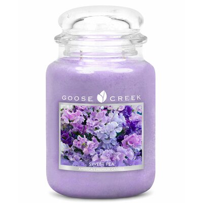 Essential Series Sweet Pea Scent Jar Candle ES26493