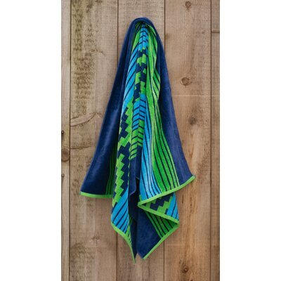 Aztec Jacquard Weaved Beach Towel