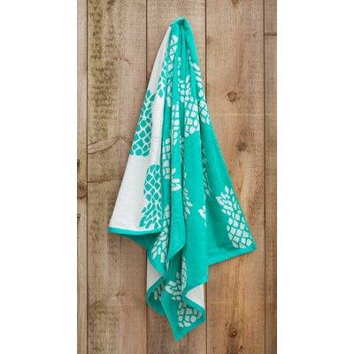 Pineapple Jacquard Weaved Beach Towel