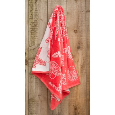Seashore Jacquard Weaved Beach Towel