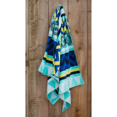 Tribal Jacquard Weaved Beach Towel