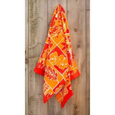 Rainforest Printed Beach Towel