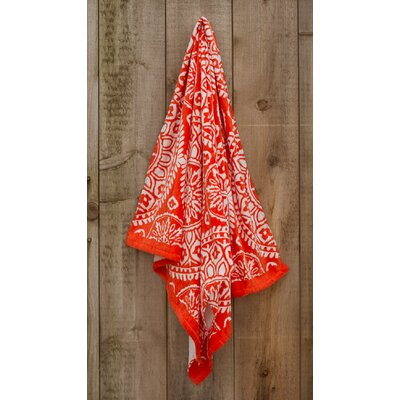 Medallion Printed Beach Towel