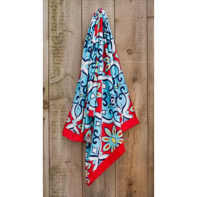 Moroccan Printed Beach Towel
