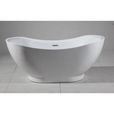 Squadra 67 x 31 Freestanding Soaking Bathtub